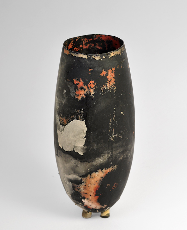 POLISIMULTANS Objekt 2016 Silber 800, Feinsilber ø8 x 20 cm